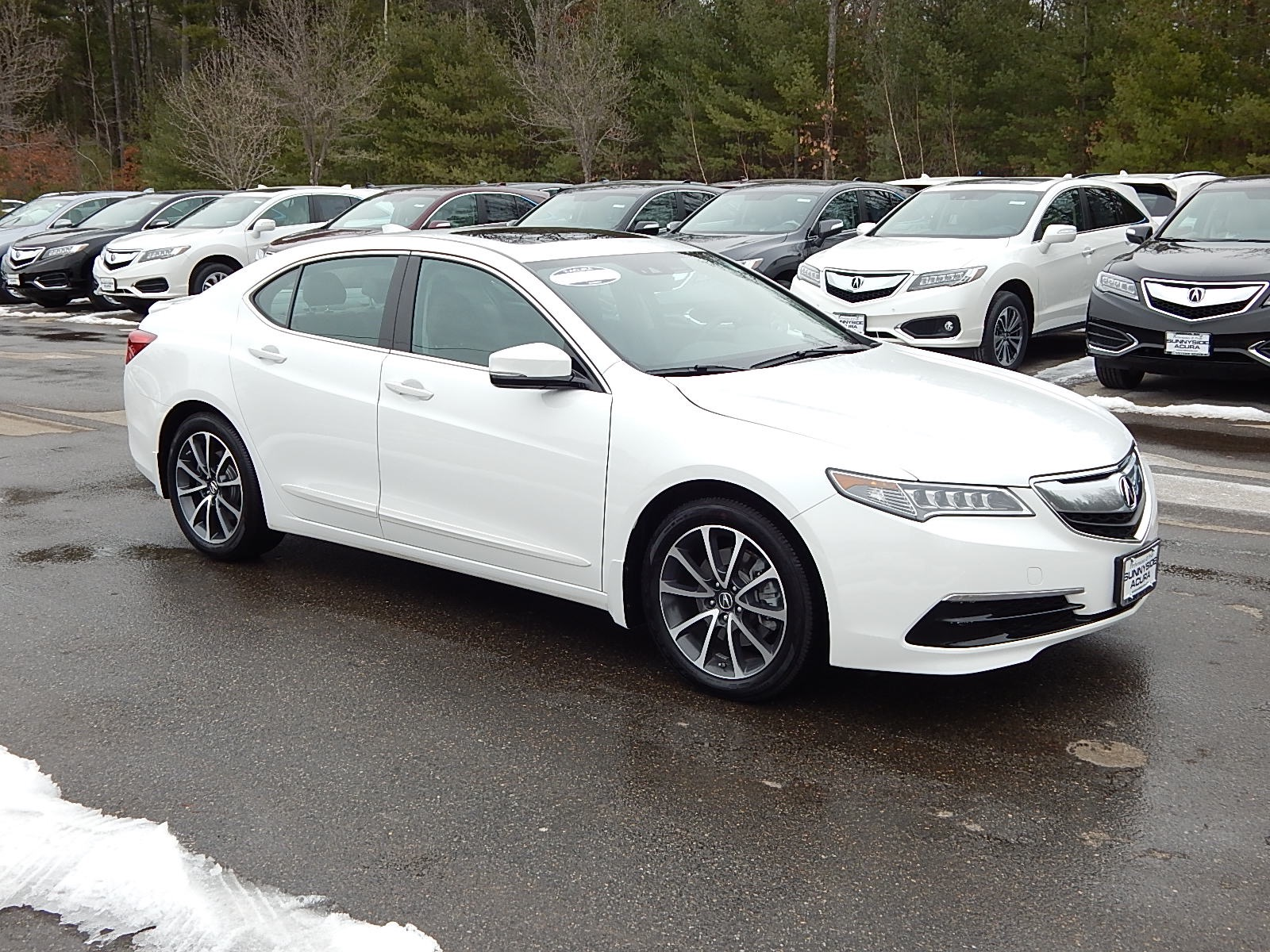 certified pre owned 2015 acura tlx 3 5l v6 sh awd w technology package sedan in nashua p6600. Black Bedroom Furniture Sets. Home Design Ideas