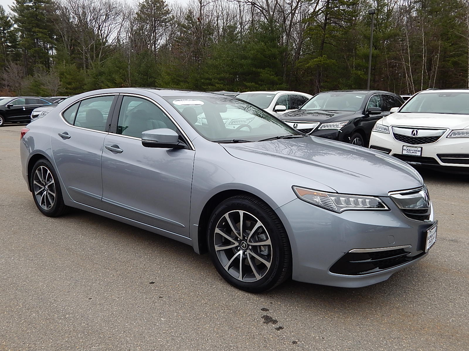 pre owned 2015 acura tlx 3 5l v6 with technology package sedan in nashua p6642 sunnyside acura. Black Bedroom Furniture Sets. Home Design Ideas
